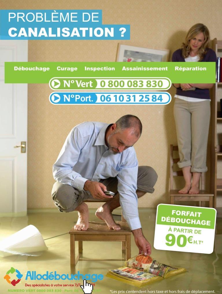 Un plombier en urgence contactez AlloDébouchage!
