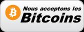 nous acceptons les bitcoins